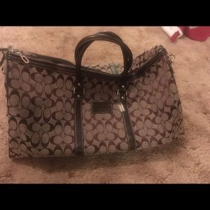 Bags - COACH large shoulder or duffel bag
